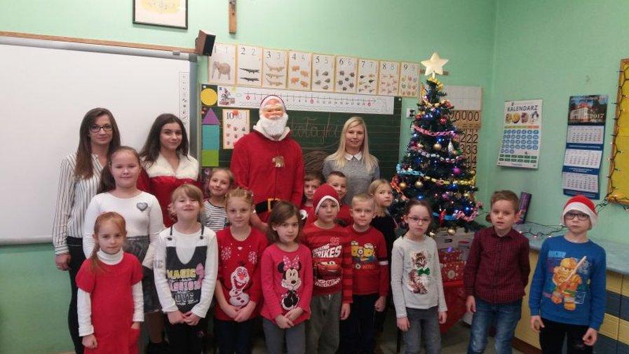 Wizyta św. Mikołaja w naszej szkole