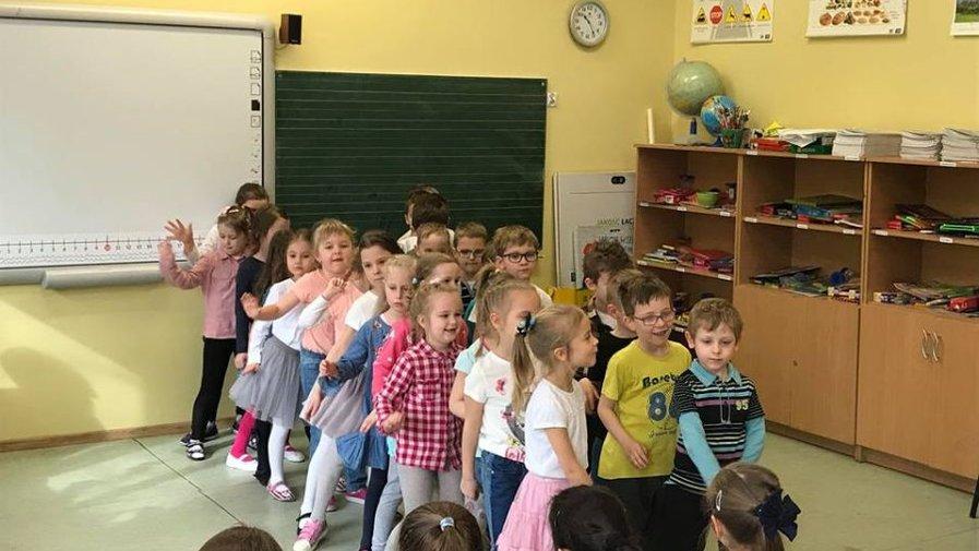 Występ przedszkolaków z Wesołej Gromadki