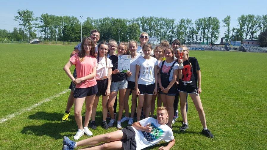 Czwórbój lekkoatletyczny dziewcząt – Mistrzostwa Powiatu