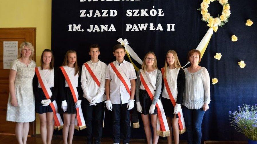 Zjazdzie Rodzin Szkół im. Jana Pawła II