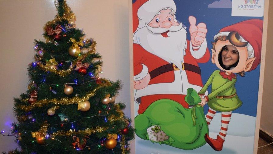 Świąteczny kącik dla dzieci w Urzędzie Miejskim