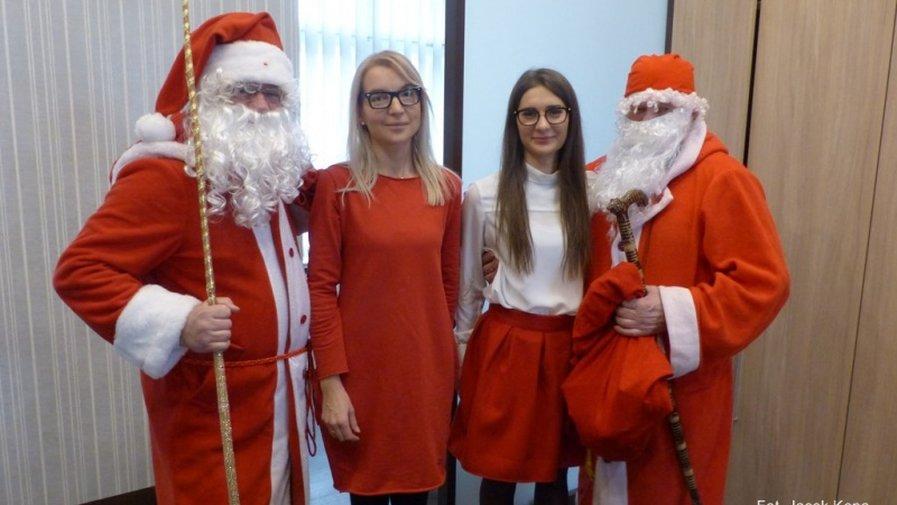 Mikołaje w Urzędzie