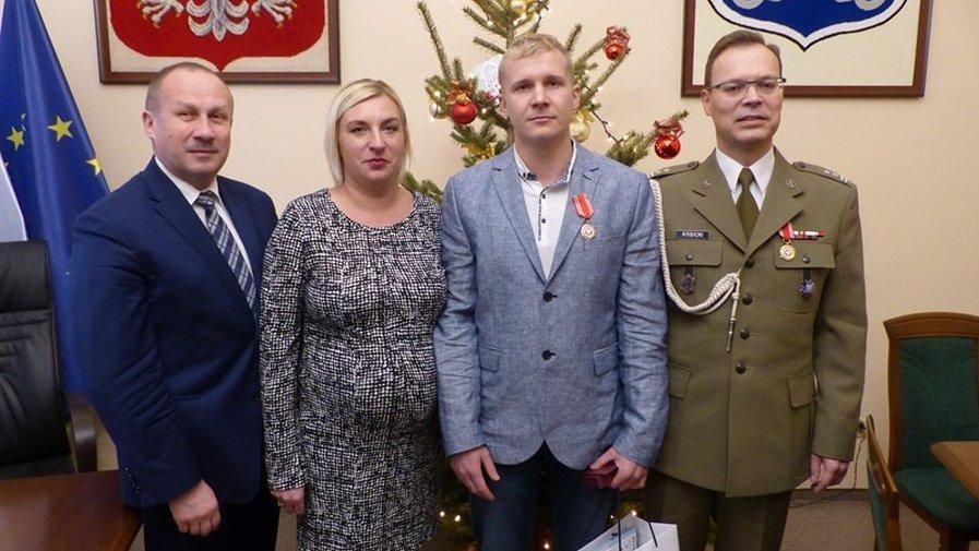 Medal dla żołnierza