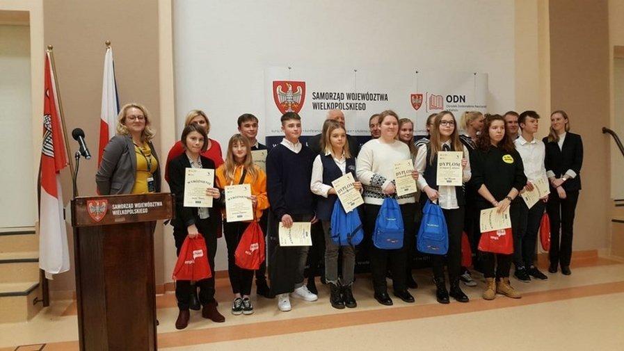 Uczniowie SP nr 4 wyróżnieni w Kaliszu