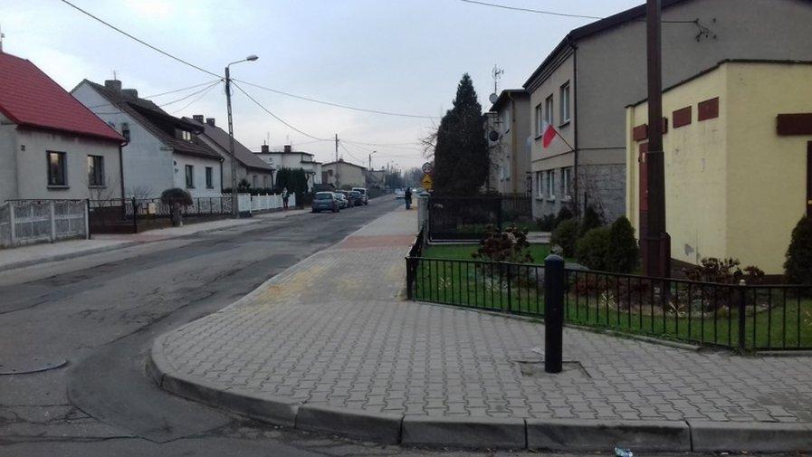 Nowe chodniki wykonane