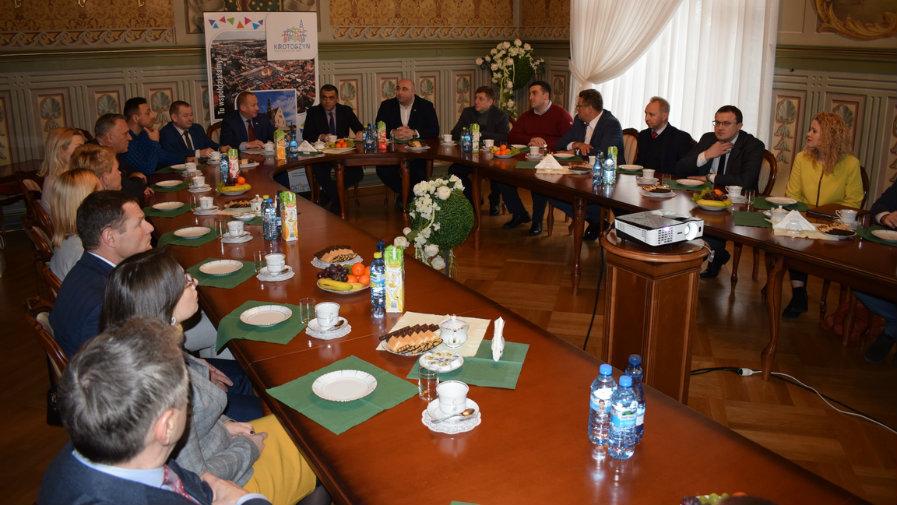 Delegacja z Gruzji w Krotoszynie