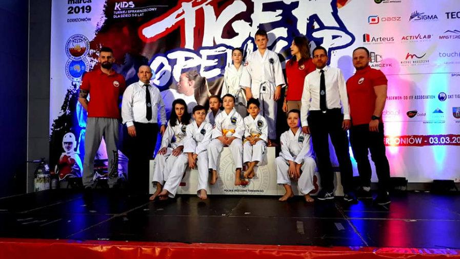 Zawody w Taekwondo