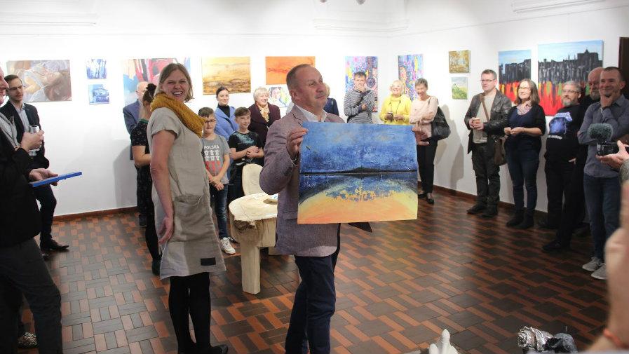 Otwarcie wystawy poplenerowej w Galerii Refektarz KOK