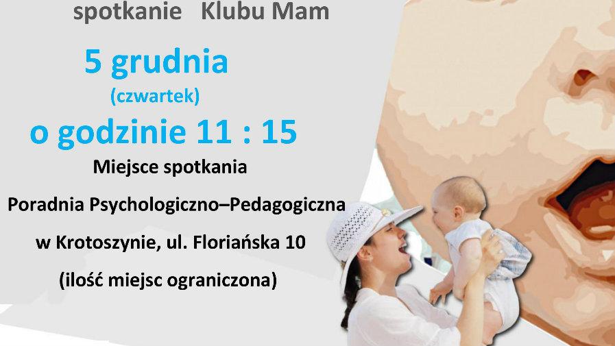 Kolejne spotkanie Klubu Mam, w Poradni Psychologiczno-Pedagogicznej.