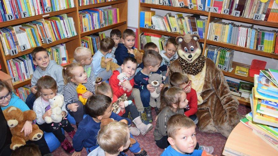 Kraina Pluszowego Misia w Krotoszyńskiej Bibliotece Publicznej