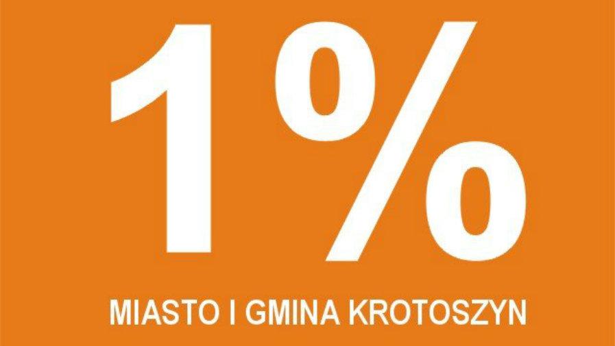 Zostaw 1% w gminie Krotoszyn 2020