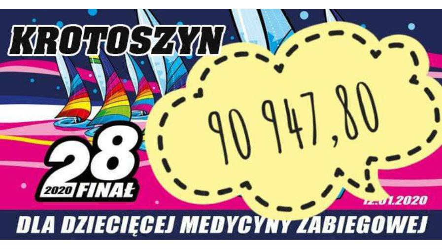 Rekord zbiórki na rzecz WOŚP w krotoszyńskim sztabie!